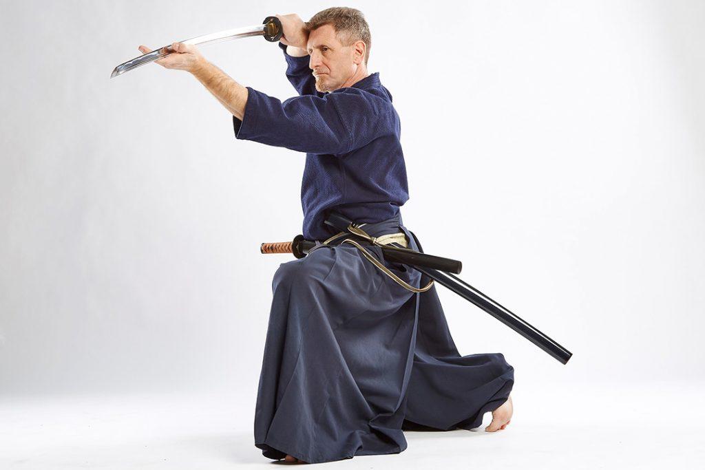 Spada giapponese Andrea Re Katori Shinto Ryu